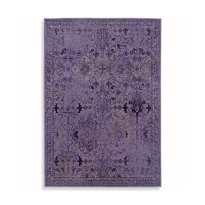 Oriental Weavers Revival 6-Foot 7-Inch x 9-Foot 6-Inch Rug in Purple