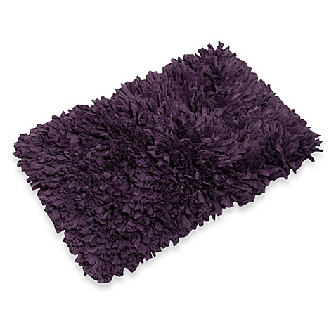 Fresh Home Elements 1-Foot x 2-Foot 6-Inch Tissue Rug in Purple