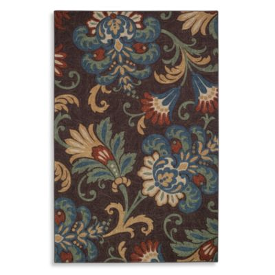 Charleston 2-Foot 6-Inch x 3-Foot 10-Inch Rug in Chocolate