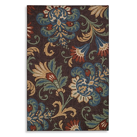 Charleston Rug In Chocolate Www Bedbathandbeyond Com