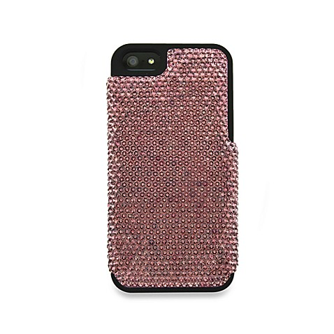 DEOS Full Pave Swarovski® Elements iPhone® 5 Case in Antique Pink
