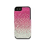 DEOS™ Full Pave Swarovski® Elements iPhone® 5 Case in Gradient Pink