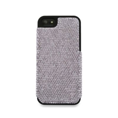 DEOS Full Pave Swarovski® Elements iPhone® 5 Case in Light Amethyst