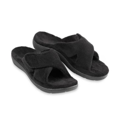 Orthaheel® Relax Women's Black Slippers