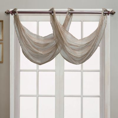 Buy Waterfall Valance From Bed Bath Amp Beyond