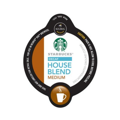 Vue™ 16-Count Starbucks® Decaf House Blend Coffee for Keurig® Brewers