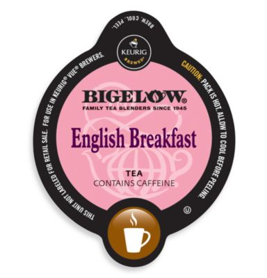 Vue® 16-Count Bigelow® English Breakfast Tea for Keurig® Vue® Brewers