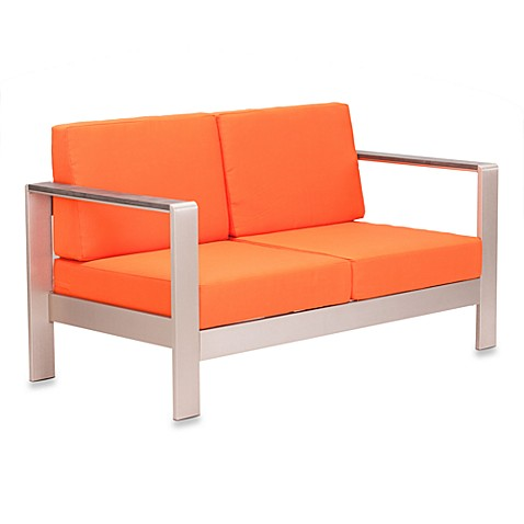 Zuo® Cosmopolitan Sofa in Orange
