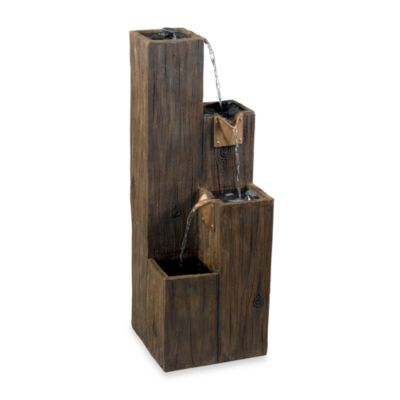Kenroy Home Timber Indoor/Outdoor Fountain