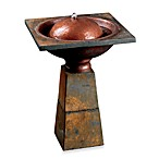 Cauldron Birdbath Fountain