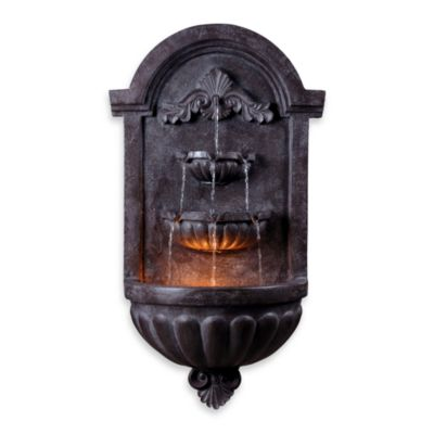 Kenroy Home San Marco Indoor/Outdoor Wall Fountain