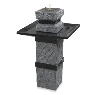 Monolith Outdoor Fountain
