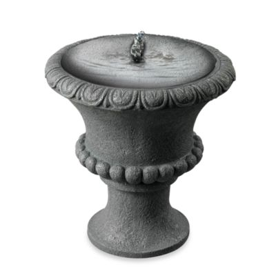 Garden Urn Outdoor Solar Table Top