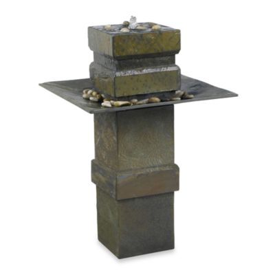 Cubist Indoor/OutdoorFloor Fountain