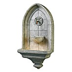 Canterbury Indoor/Outdoor Wall Fountain