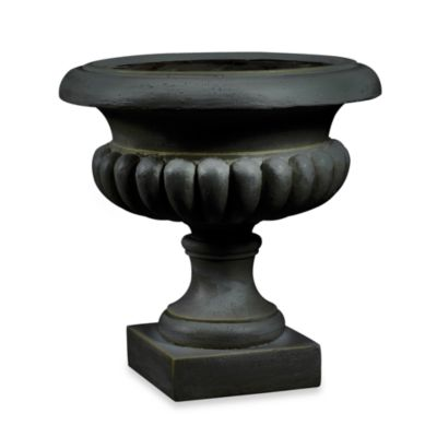 Kenroy Home Short Urn Garden Planter in Bronze