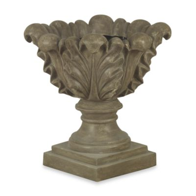 Scroll Leaf Garden Planter