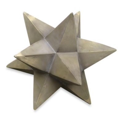 Kenroy Home Dimensional Star Garden Ornament