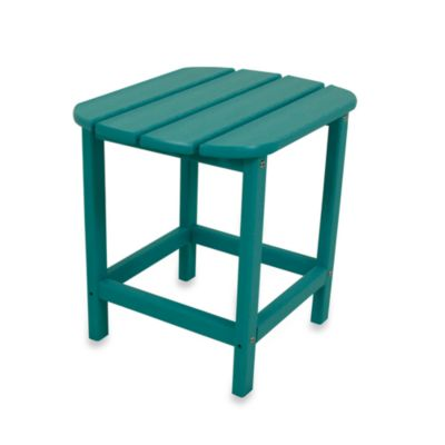 Aruba Blue Side Table