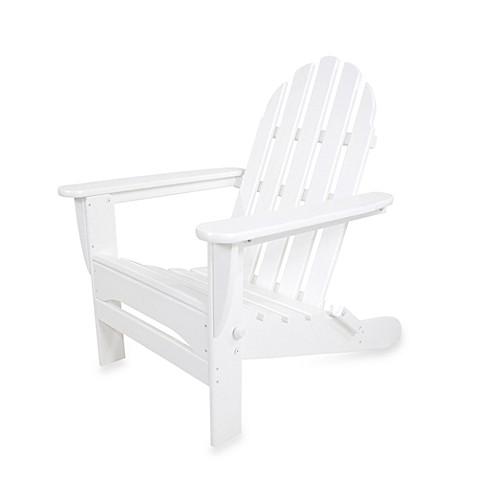 Polywood 174 Folding Adirondack Chair Www Bedbathandbeyond Com
