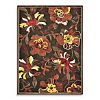 Loloi Rugs Halton 5-Foot 3-Inch x 7-Foot 7-Inch Indoor Rug in Floral Brown/Rust
