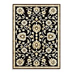 Loloi Rugs Halton 5-Foot 3-Inch x 7-Foot 7-Inch Indoor Rug in Black/Gold