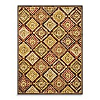 Loloi Rugs Halton 5-Foot 3-Inch x 7-Foot 7-Inch Indoor Rug in Dark Brown/Rust