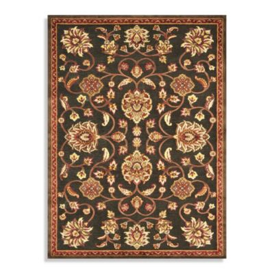 Loloi Rugs Halton 5-Foot 3-Inch x 7-Foot 7-Inch Indoor Rug in Brown/Rust