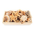 Blue Lagoon Potpourri Rectangle Wood Box