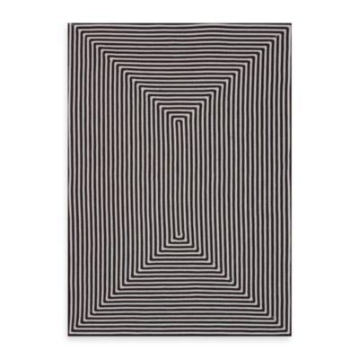 Loloi Rugs In/Out 5-Foot x 7-Foot 6-Inch Indoor/Outdoor Rug in Black