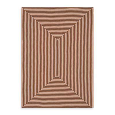 Loloi Rugs In/Out 5-Foot x 7-Foot 6-Inch Indoor/Outdoor Rug in Orange