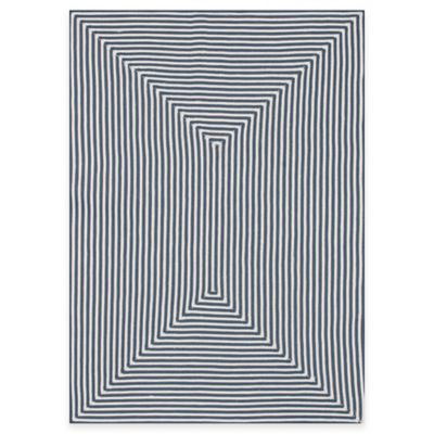 Loloi Rugs In/Out 5-Foot x 7-Foot 6-Inch Indoor/Outdoor Rug in Aqua