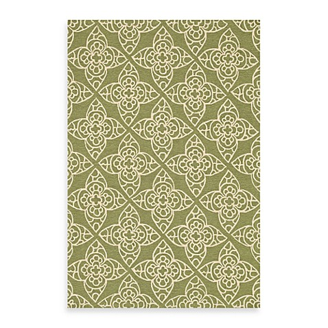 Loloi Rugs Summerton Green/Ivory 5-Foot x 7-Foot 6-Inch Rug