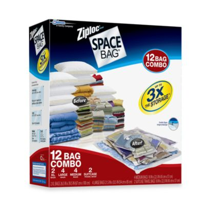 Ziploc® Space Bag® Super 12-Piece Combo Set