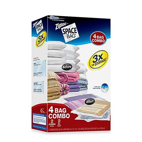 Ziploc 174 Space Bag 174 4 Piece Bedding Storage Bag Set Bed