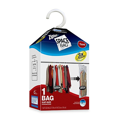 Ziploc® Space Bag® Vacuum Seal Hanging Bag