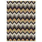 Loloi Rugs Francesca 5-Foot x 7-Foot 6-Inch Indoor Rug in Grey Zig-Zag