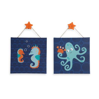 Lambs & Ivy® Bubbles & Squirt Wall Décor - 2-Pack