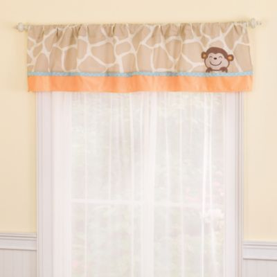 kidsline™ Carter's Jungle Play Window Valance