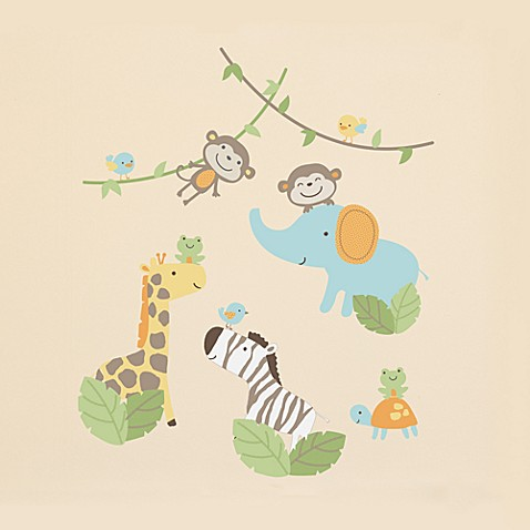 kidsline™ Carter's Jungle Play Wall Decals