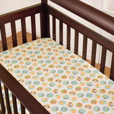 kidsline™ Carter's Jungle Play Fitted Crib Sheet