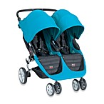 Britax B-Agile Double Stroller in Peacock
