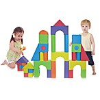 Verde Jumbo 50-Piece Foam Building Blocks