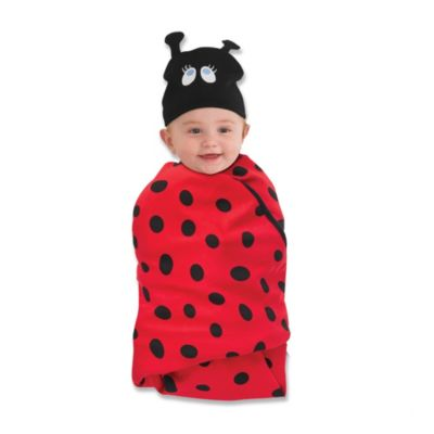Sozo® Swaddle Blanket and Cap Set in Snuggle Bug