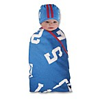 Sozo® All Star Swaddle Blanket and Cap Set