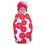 Sozo® Butterfly Swaddle Blanket and Cap Set
