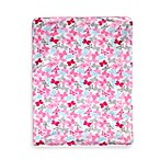 Just Born® Butterfly Pink Valboa Blanket