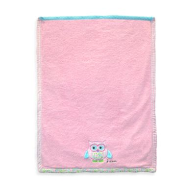 Just Born® Embroidered Owl Blanket