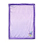Just Born® Snail Applique Lavender Valboa Blanket