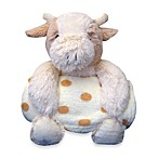 Pem America Stuffed Cow with Blanket - Cream